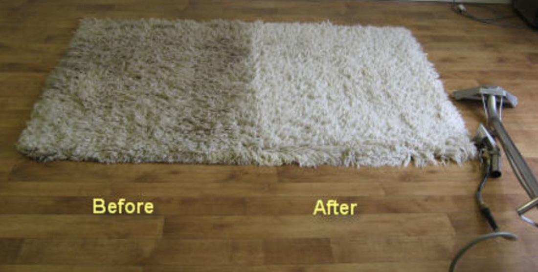 Area Rug Before-After Cleaning Franklin TN